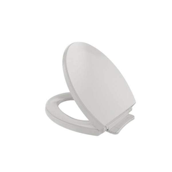 Toto® SS113#11 Toilet Seat With Cover, Round Bowl, Closed Front, Polypropylene, SoftClose® Hinge, Colonial White, Import