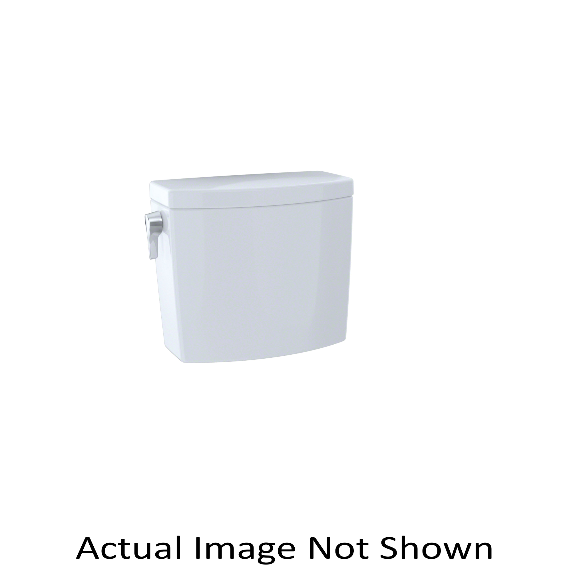 Toto® ST453U#01 Tank and Cover With Trim, 1 gpf, Left Hand Lever Flush Handle, 3 in Flush, Cotton, Domestic