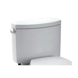 Toto® ST454E#01 Tank and Cover, 1.28 gpf, Lever Flush Handle, Cotton, Import