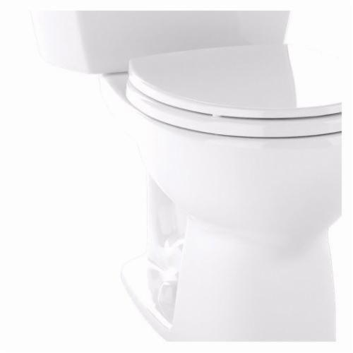 Toto® ST743E#01 Eco Drake Toilet Tank, 1.28 gpf, Lever Flush Handle, Cotton, Import