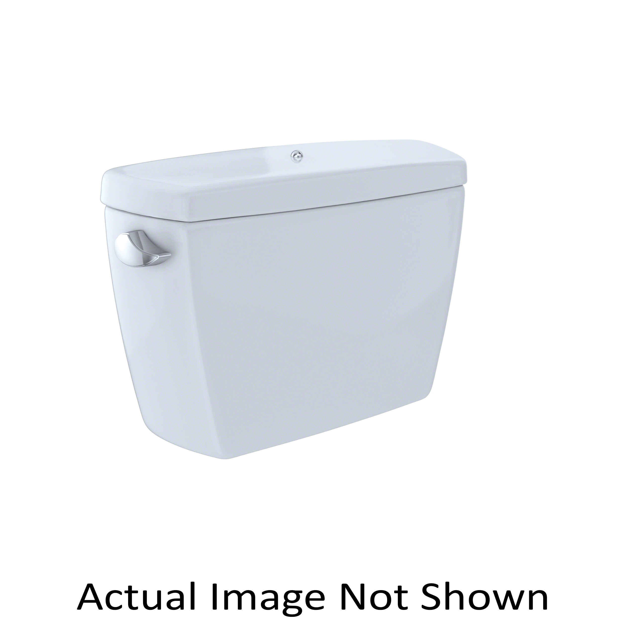 Toto® ST743SDB#11 Tank and Cover With Bolt Down Lid, 1.6 gpf, Left Hand Lever Flush Handle, 3 in Flush, Colonial White, Import