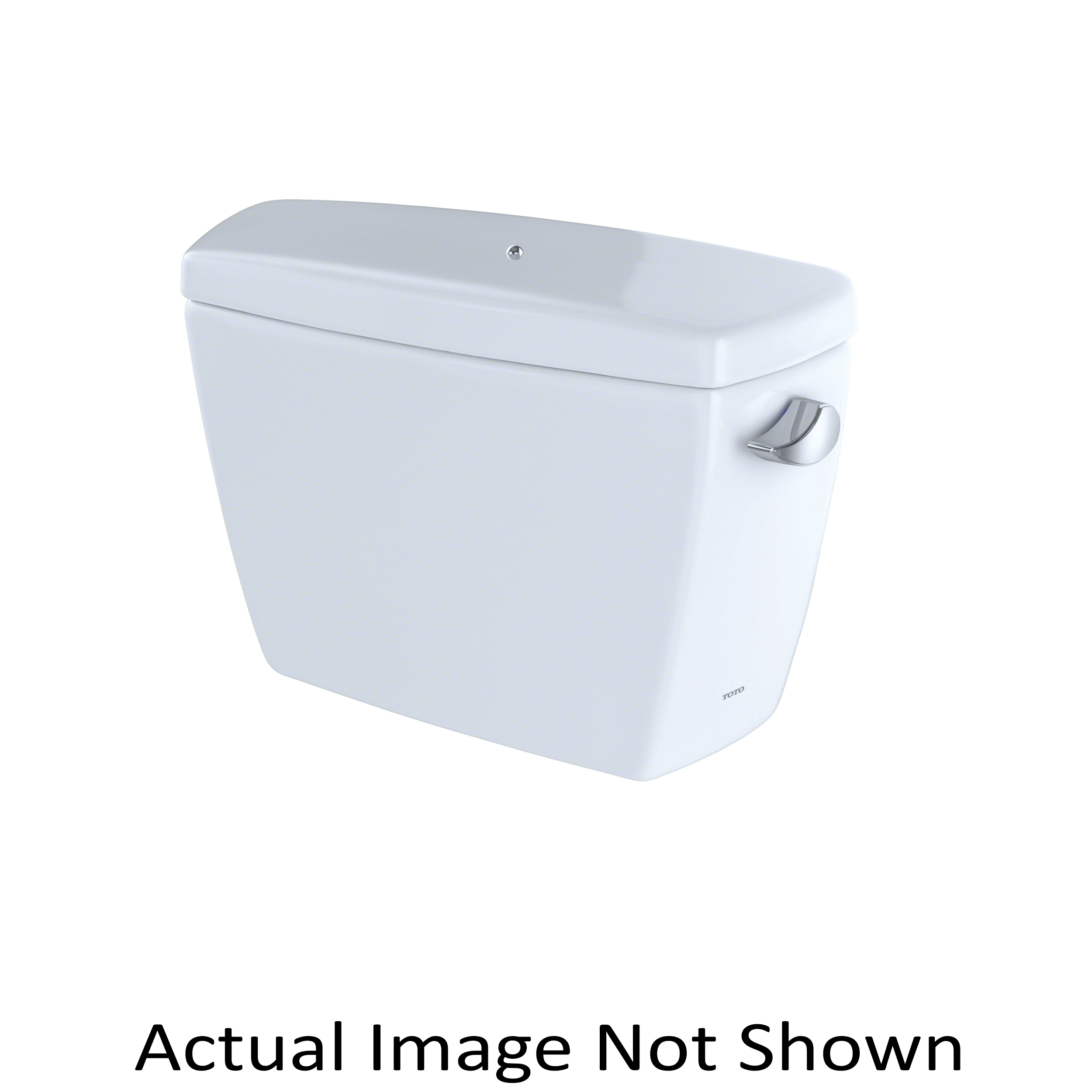 Toto® ST743SRB#01 Tank and Cover With Bolt Down Lid, 1.6 gpf, Right Hand Lever Flush Handle, 3 in Flush, Cotton, Import
