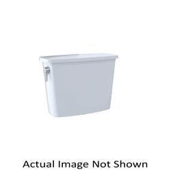 Toto® ST744E#01 Tank and Cover, 1.28 gpf, Left Hand Lever Flush Handle, 3 in Flush, Cotton, Domestic