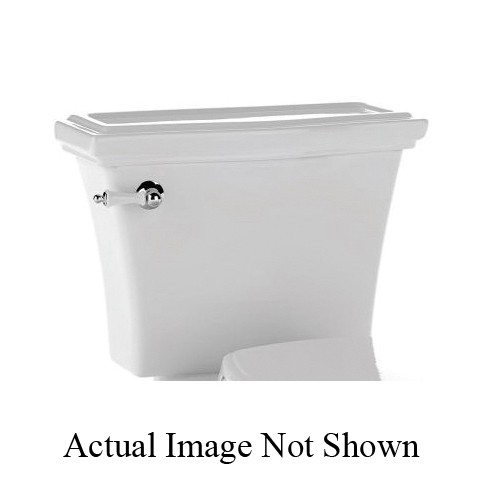 Toto® ST784S#11 Tank and Cover, 1.6 gpf, Lever Flush Handle, Colonial White, Import