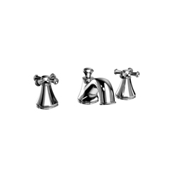 Toto® TB220DD#CP Vivian® Roman Tub Filler Trim, 10 gpm, 8 to 16 in Center, Polished Chrome, 2 Handles, Hand Shower Yes/No: No, Residential