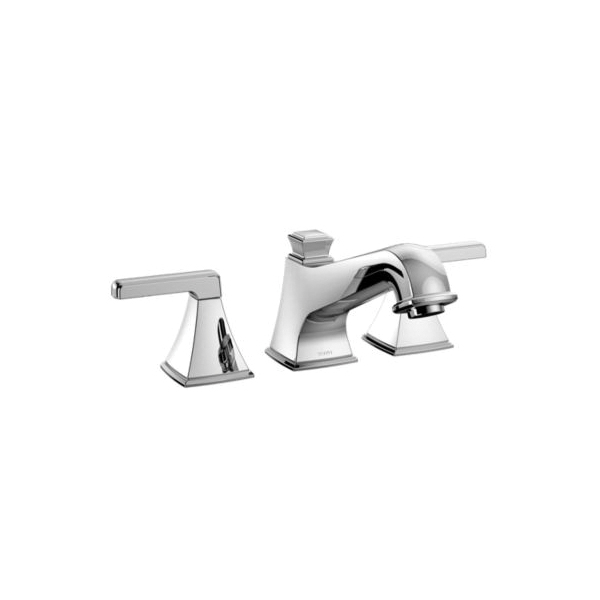Toto® TB221DD#CP Connelly® Roman Tub Filler Trim, 10 gpm, 8 to 16 in Center, Polished Chrome, 2 Handles, Hand Shower Yes/No: No, Residential