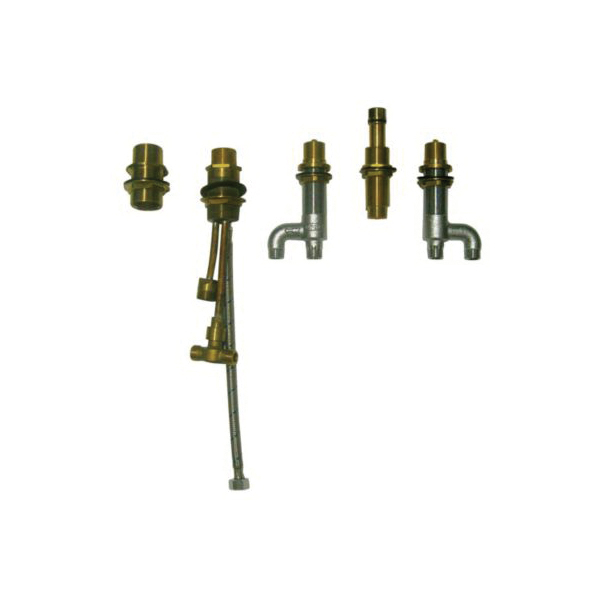 Toto® TB7FR Guinevere® 5-Hole Bath Faucet Valve With Hand Shower and Diverter Valve, Brass Body
