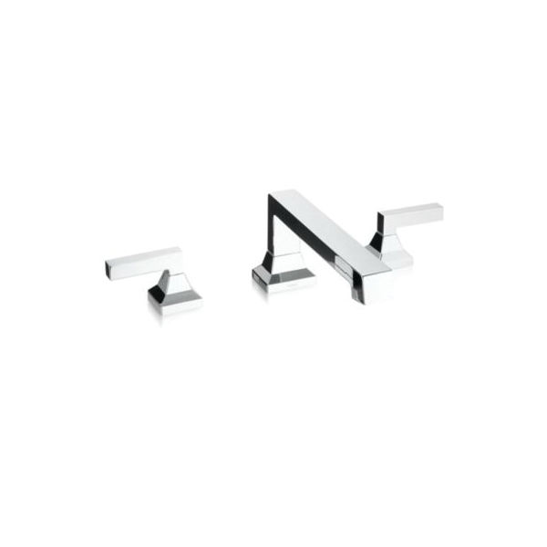 Toto® TB930DD#CP Lloyd™ Bathtub Faucet, 15 gpm, 8 to 16 in Center, Polished Chrome, 2 Handles, Hand Shower Yes/No: No, Residential