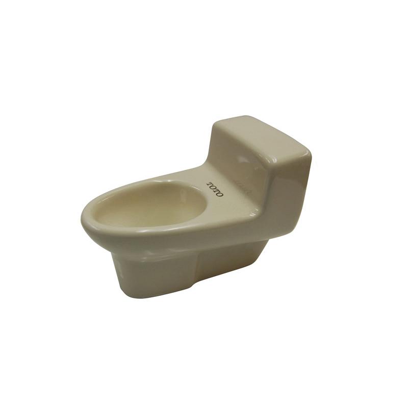 Toto® TCU102#03 Miniature 1-Piece Toilet Display, Bone