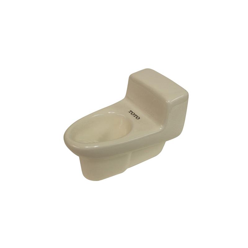 Toto® TCU102#12 Miniature 1-Piece Toilet Display, Sedona Beige