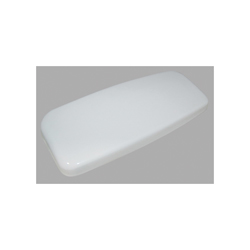 Toto® TCU412CR#01 Tank Lid With Velcro Tape, For Use With Aquia® CST412MF/CST412MF.10 12 and 10 in Rough-In 1.6/0.9 gpf Dual-Max® Elongated Toilet, Cotton