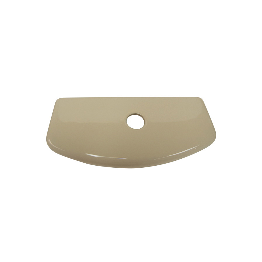 Toto® TCU413CR#03 Tank Lid With Velcro Tape, For Use With Aquia® CST414M 12 in Rough-In 1.6/0.9 gpf Dual Max® Elongated Toilet, Vitreous China, Bone