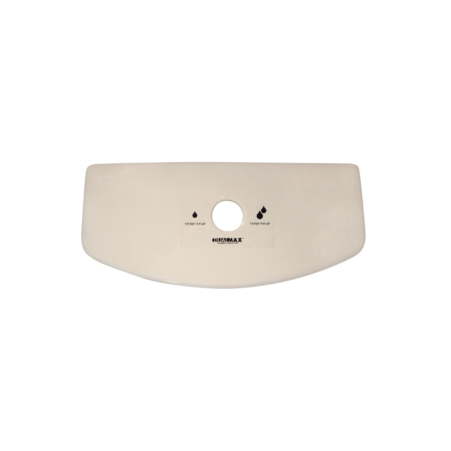 Toto® TCU416CR#03 Tank Lid With Velcro Tape, For Use With Aquia® II CST416M 1.6 and 0.9 gpf Dual Max® Elongated Toilet, Vitreous China, Bone