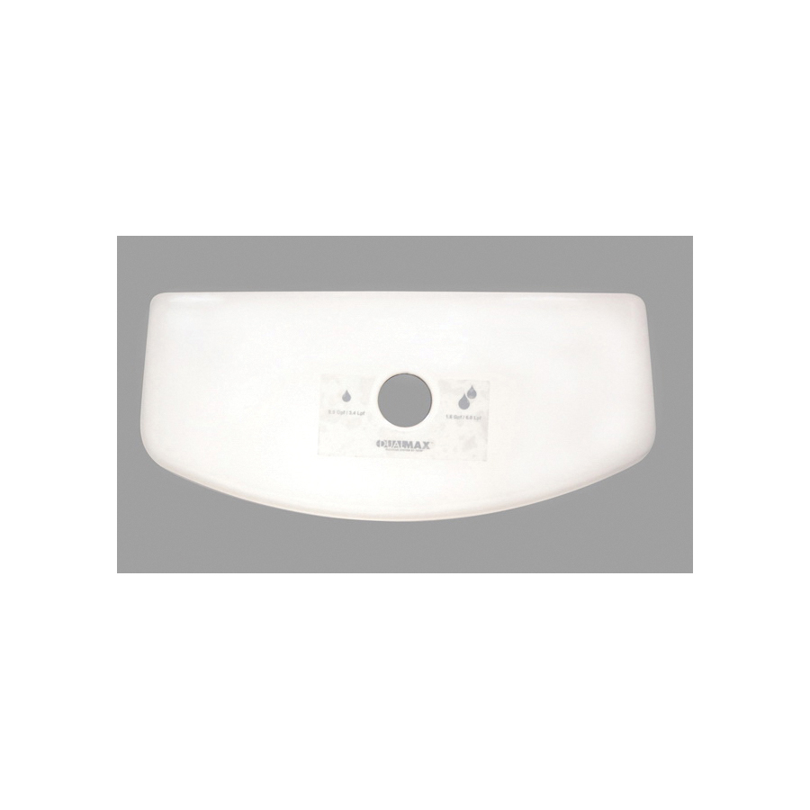 Toto® TCU416CR#11 Tank Lid With Velcro Tape, For Use With Aquia® II CST416M 1.6 and 0.9 gpf Dual Max® Elongated Toilet, Vitreous China, Colonial White