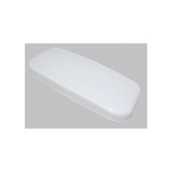 Toto® TCU454CRE#01 Tank Lid With Velcro Sticker, For Use With ST454E Tank and Cover/Drake® II CST454CEF and CST454CEFG 1.28 gpf Tornado Flush™ Elongated Toilet, Vitreous China, Cotton