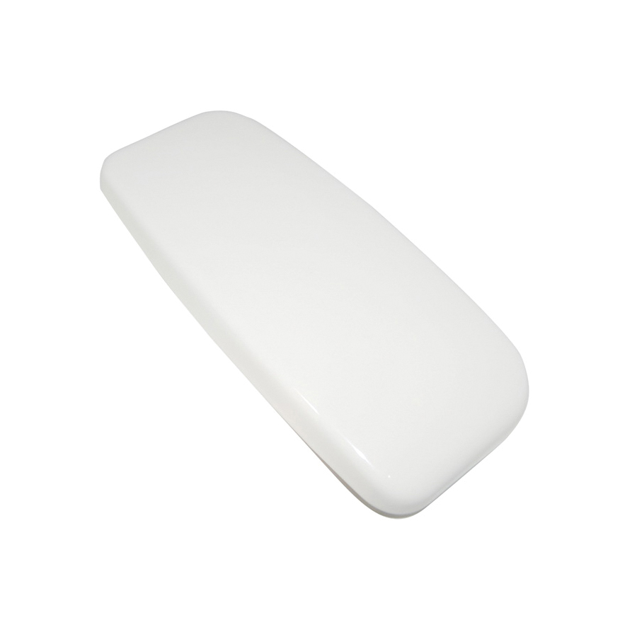 Toto® TCU454CRE#03 Tank Lid With Velcro Sticker, For Use With ST454E Tank and Cover/Drake® II CST454CEF and CST454CEFG 1.28 gpf Tornado Flush™ Elongated Toilet, Vitreous China, Bone