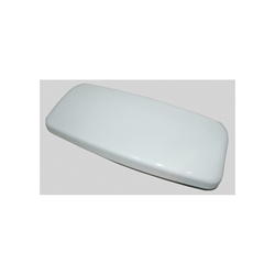 Toto® TCU624CRE#01 Tank Lid, For Use With Aimes® MS624/MS626 1.28 gpf UniFit Rough-In Tornado Flush™ Elongated 1-Piece Toilet, Vitreous China, Cotton