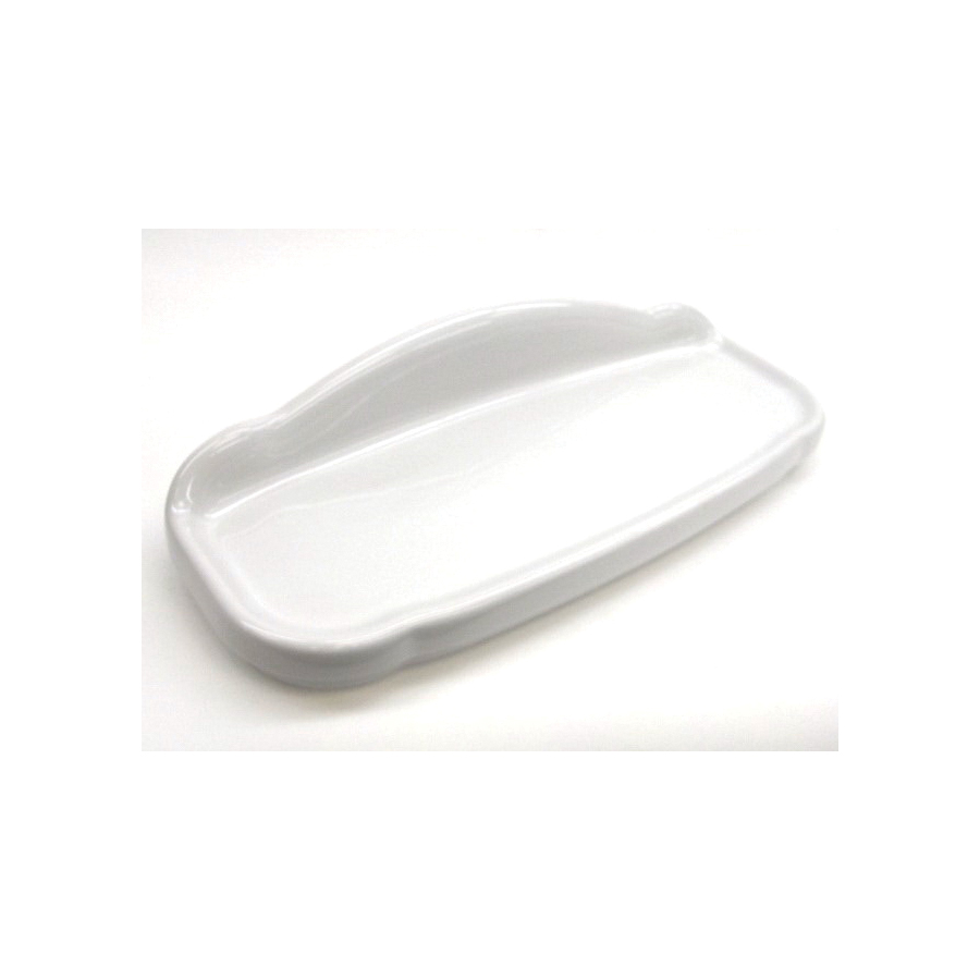 Toto® TCU754CR#01 Tank Lid With Velcro Tape, For Use With Whitney™ CST754SFN 12 in Rough-In 1.6 gpf G-Max® Elongated Toilet, Vitreous China, Cotton