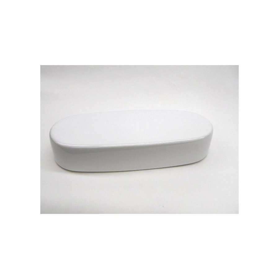 Toto® TCU794CR#01 Tank Lid With Velcro Tape, For Use With Nexus® CST794SFR 12 in Rough-In 1.6 gpf Universal Height G-Max® Elongated Toilet, Vitreous China, Cotton