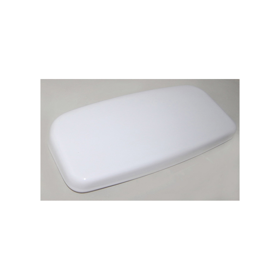 Toto® TCU864CRP#01 Tank Lid With Velcro Sticker, For Use With Supreme® CST863 12 in Rough-In 1.6 gpf Power Gravity® Round Toilet/Supreme® CST864 12 in Rough-In 1.6 gpf Elongated Toilet, Cotton
