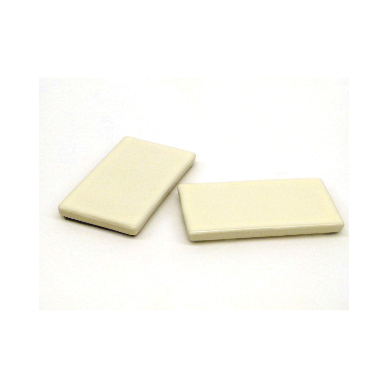 Toto® TCU884CV#12 2-Piece Side Plate With Velcro Tape, For Use With Carlyle® CST874S/Vespin® CST764S/CST764SG 1.6 gpf Elongated Toilets, Carolina CST884 Toilet, Sedona Beige