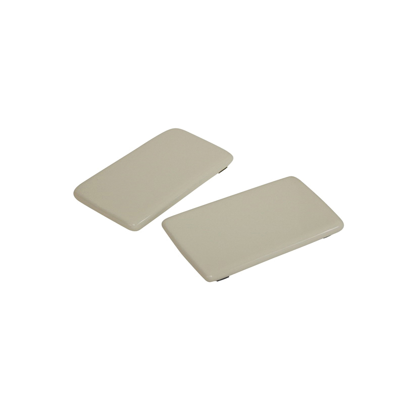 Toto® TCU904CV#12 2-Piece Side Plate With Velcro Tape, For Use With Pacifica™ MS904114/Carrollton® CST774S 1.6 gpf Elongated Toilet, Sedona Beige