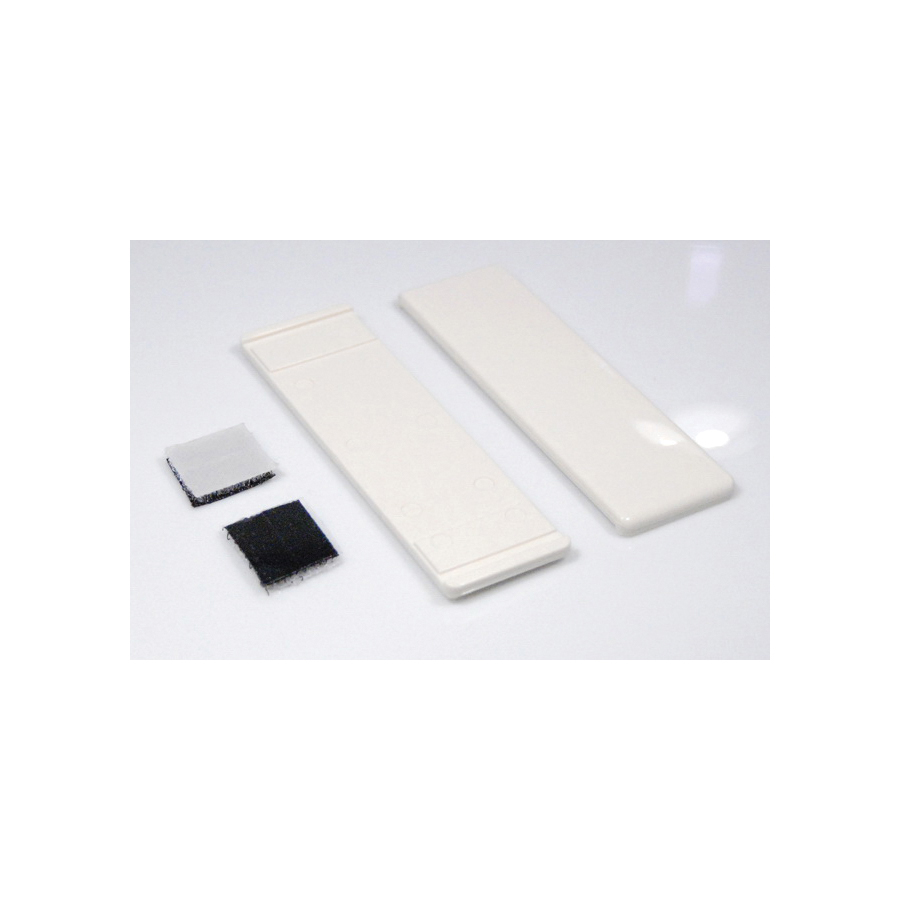 Toto® TCU964CV#12 2-Piece Side Plate With Velcro Tape, For Use With Soiree™ CST964CF(G)/MS964214CF/MS964214CFG 1.6 gpf UniFit Rough-In Cyclone Flush Elongated Toilet, Sedona Beige