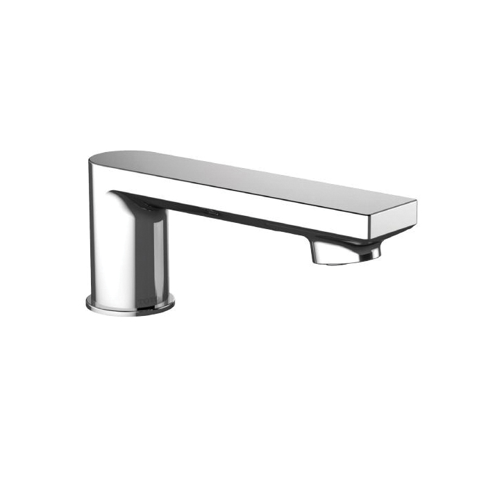 Toto® TELS1A5#CP Spout Assembly, 5-1/2 in L x 1-15/16 in H, For Use With EcoPower® Libella™ TEL1A5 0.5 gpm Faucet, Polished Chrome