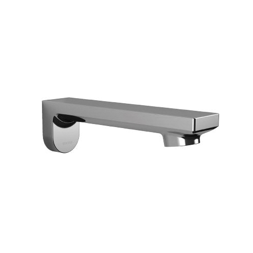 Toto® TELS1C5#CP Spout Assembly, 6-3/4 in L, For Use With EcoPower® Libella™ TEL1C5 0.5 gpm Wall Mount Faucet, Polished Chrome