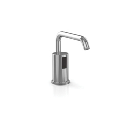 Toto® TES100AA#CP Sensor Operated AC Soap Dispenser With (1) Spout, Polished Chrome, 3/8 gal, Deck Mount, Brass, Commercial