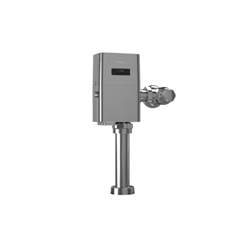 Toto® TET1LA32#CP Toilet Flush Valve, EcoPower®, 1.28 gpf, 1 in NPT Inlet, 1-1/2 in Spud, 35 to 125 psi, Polished Chrome, Import