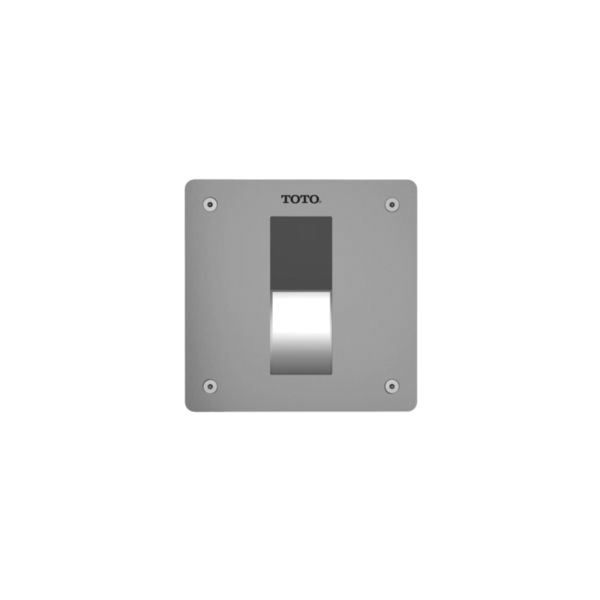 Toto® TEU3UA#SS Ultra High Efficiency Concealed Urinal Flush Valve, EcoPower®, 0.125 gpf, 3/4 in NPT Inlet, 15 to 125 psi, Stainless Steel