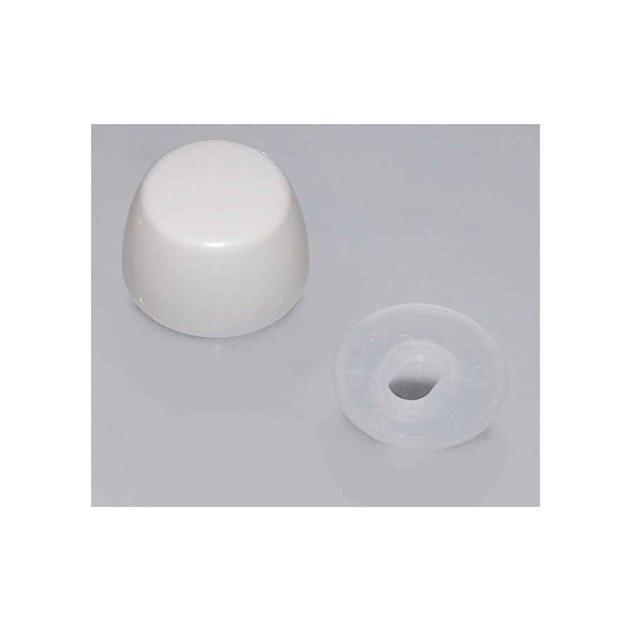 Toto® THU044#12 Bolt Cap and Base With Nut, For Use With Drake® CST744E and CST744EG 1.28 gpf Elongated Toilet, Sedona Beige