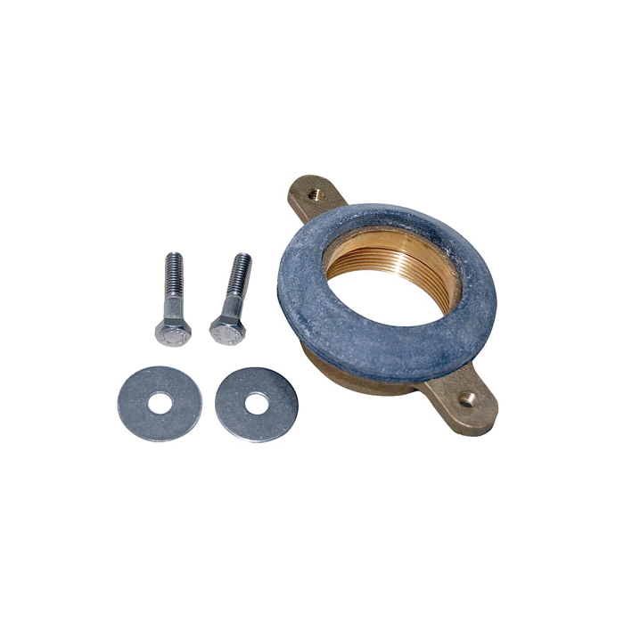 Toto® THU080 Outlet Flange Set, For Use With UT104 0.125 gpf Commercial Washout Urinal