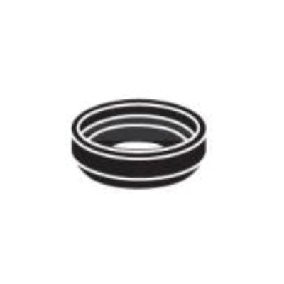 Toto® THU102 Tank-to-Bowl Gasket, For Use With CST703/CST704 1.6 gpf Round/Elongated Toilet, Promenade® Carusoe® Toilet, 2 in