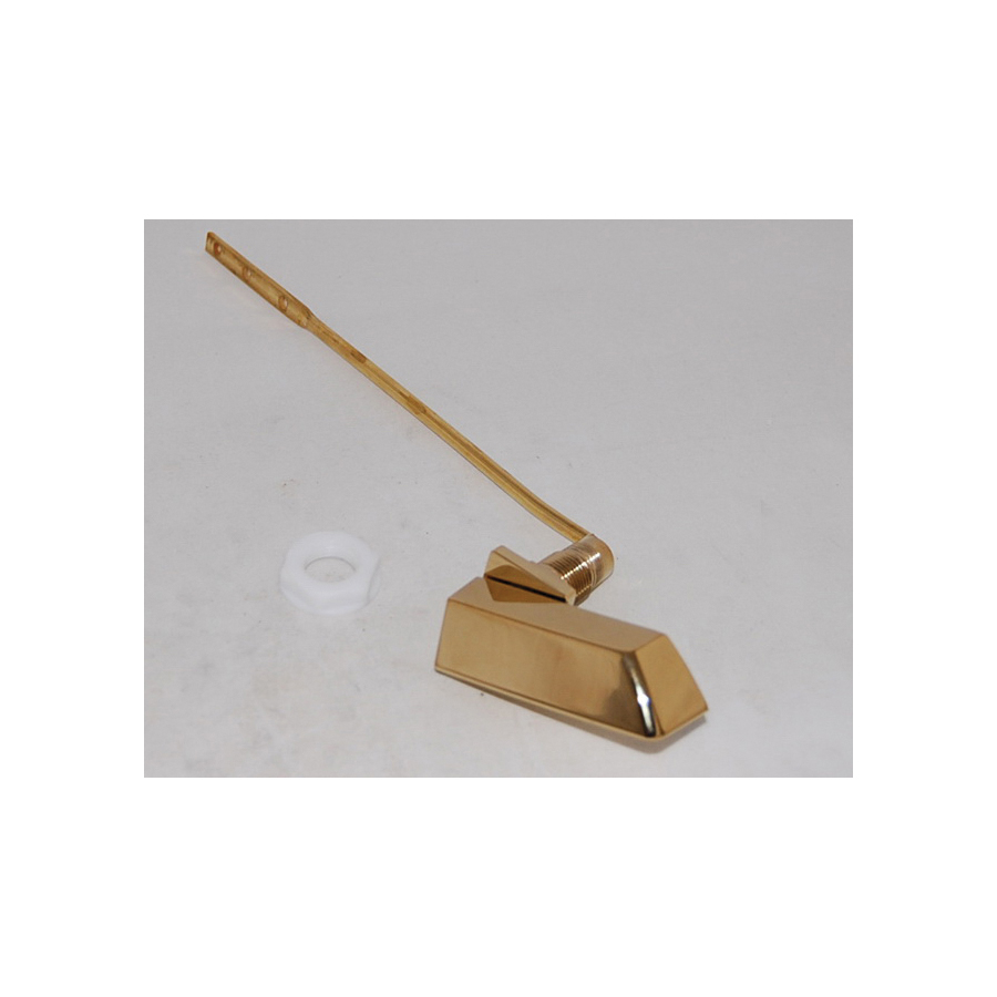 Toto® THU225#PB Trip Lever Handle, Metal, PVD Polished Brass