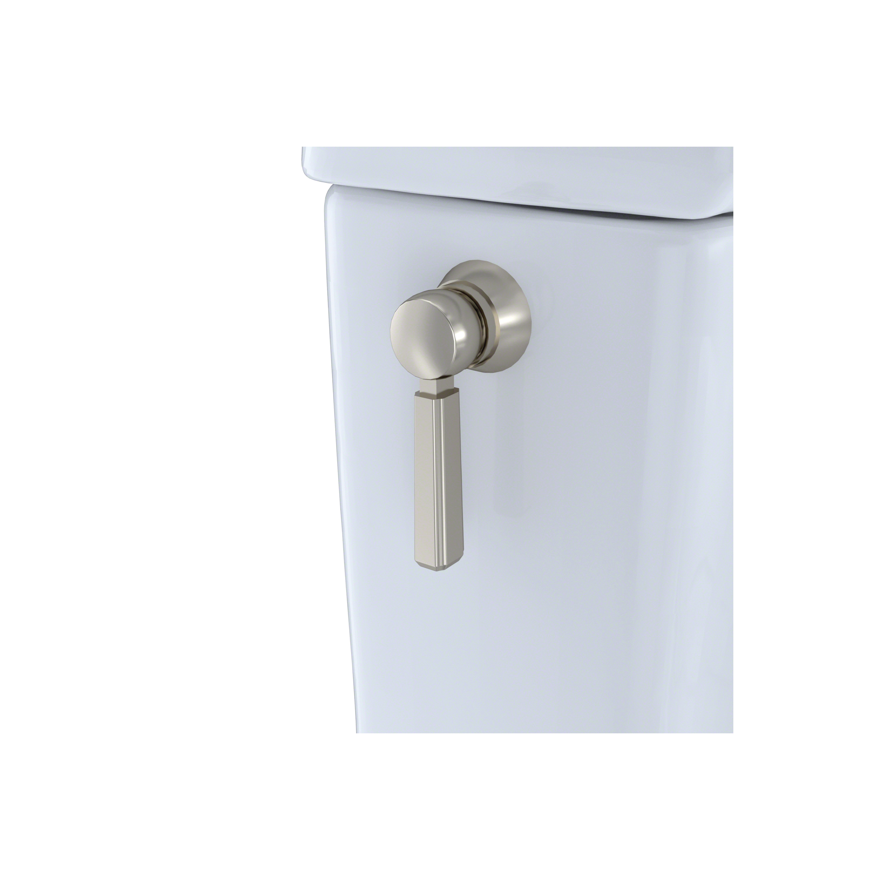 Toto® THU231R Trip Lever Handle, Brushed Nickel, Domestic