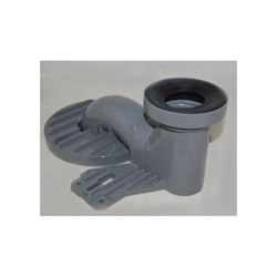Toto® TSU01W.10R Unifit Trapway, For Use With Vespin® II CST474CEF(G) 1.28 gpf Close Coupled High-Efficiency Toilet, 14 in