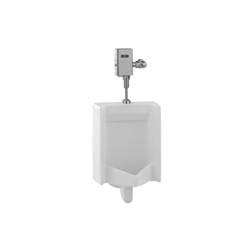 Toto® UT445U#01 High Efficiency Washout Urinal, Square, 0.125 gpf, Top Spud, Wall Mount, Cotton