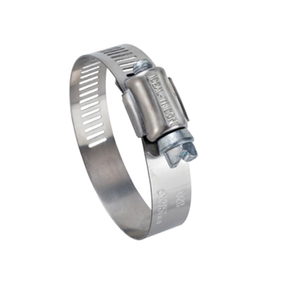 Tridon® 3I6712-1 Hy-Gear® 67-1 Worm Gear Clamp, 1/2 to 1-1/4 in Clamp, #12 Trade, 200 Stainless Steel Band, 410 Stainless Steel Bolt, Domestic