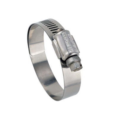 Tridon® 3I6724M 67M Lined Marine Grade Worm Gear Clamp, 1-1/16 to 2 in Clamp, #24 Trade, 316 Stainless Steel Band, 316 Stainless Steel Bolt