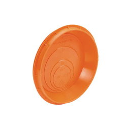 Tuf-Tite® S85 All-In-One Universal Plug/Seal, For Use With 1-1/2 in, 2 in, 3 in or 4 in SCH 40/STD Pipe, 4 in SDR 35 Pipe, 4 in Corrugated Pipe, Drain Sumps and Distribution Boxes, Plastic, Orange, Domestic
