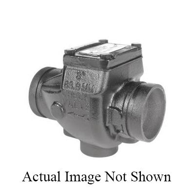 Grinnell® 59030080 Swing Check Valve, 8 in, Grooved, Ductile Iron Body