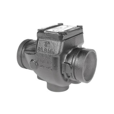 Grinnell® 59030030P Swing Check Valve, 3 in, Grooved, Ductile Iron Body, Import