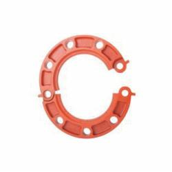 Grinnell Fire 71H40S No 71H Hinged Flange Adapter With Grade E EPDM Gasket, 4 in, 4-1/2 in Dia Flange, 5/8 in Dia Bolt Circle, 3 in L Bolt