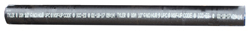Tyler Pipe 006817-P/FT Soil Pipe, 6 in Nominal, No Hub, Cast Iron, 10 ft L, Spec: ASTM A888, CISPI 301
