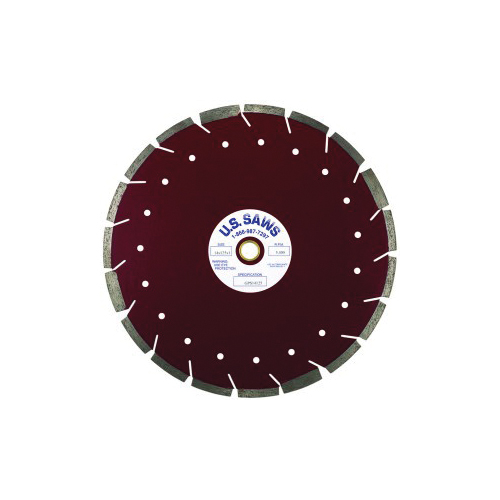 U.S.SAWS GPS16125 Premium Blade, 16 in Blade, 1 in/20 mm, 1/8 in W