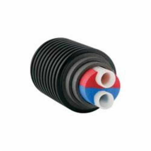 UponorEcoflex® 5226915 Twin Potable Pipe, 1-1/2 in PEX, 1.06 in THK Wall, 9.84 R Factor, Polyethylene