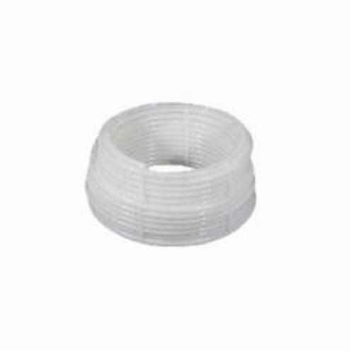 Uponor Wirsbo® hePEX™ A1140375 Tubing, 3/8 in Nominal, 0.35 in ID x 1/2 in OD x 100 ft Coil L, White, PEX-A