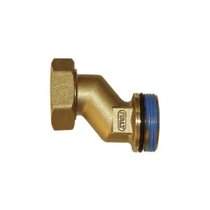 Uponor TruFLOW™ A2620045 Classic Manifold Offset Union, R32 x 1-1/4 in, Union x BSP, Brass, Domestic